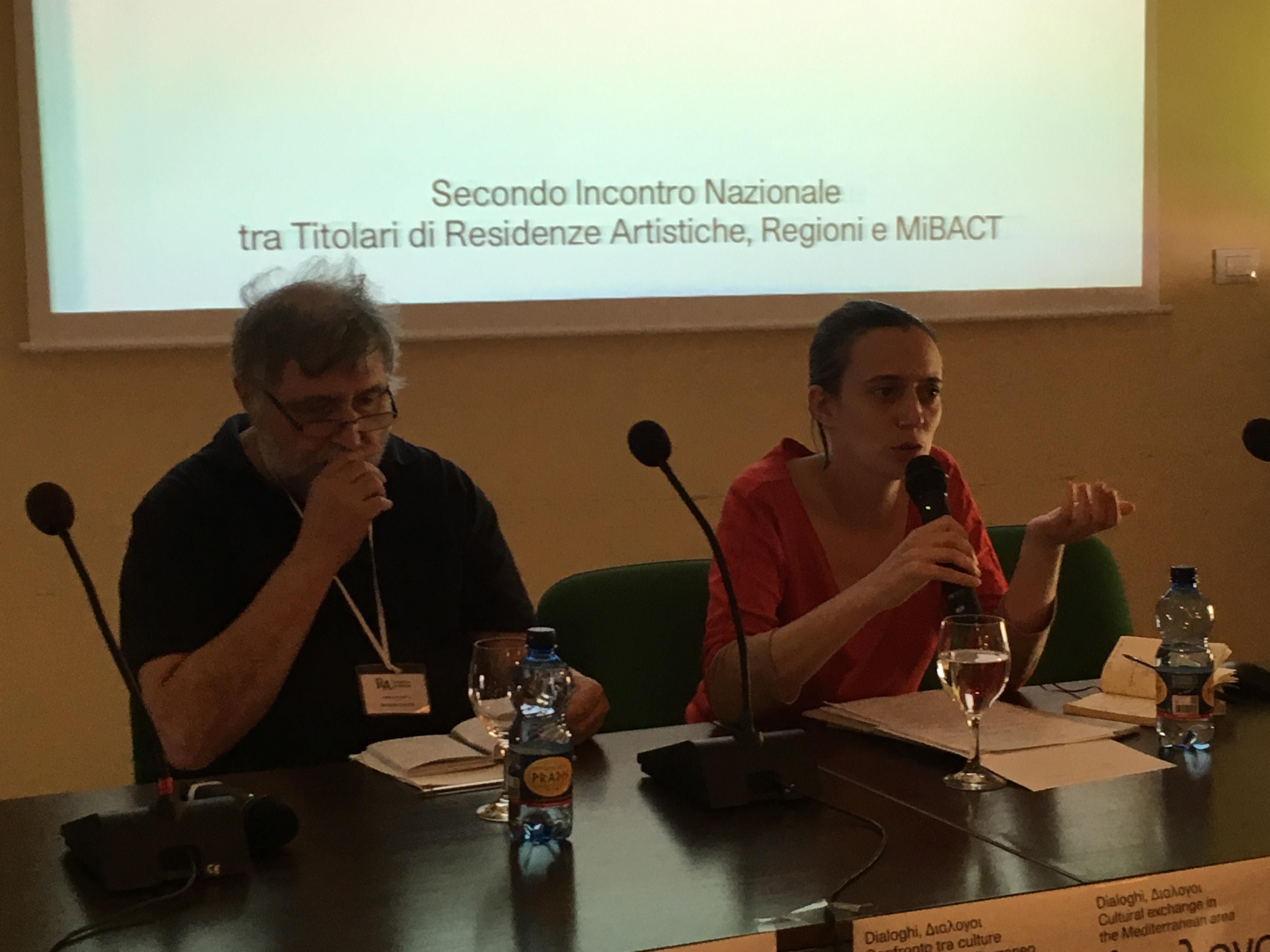 Secondo Incontro Nazionale tra Titolari di Residenze Artistiche, Regioni e MIBACT