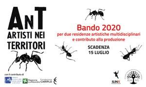 AnT Bando 2020: 2 residenze artistiche multidisciplinari e contributo alla produzione