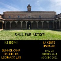BLOOM! Call per artisti