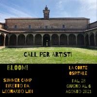 BLOOM! Call per artisti
